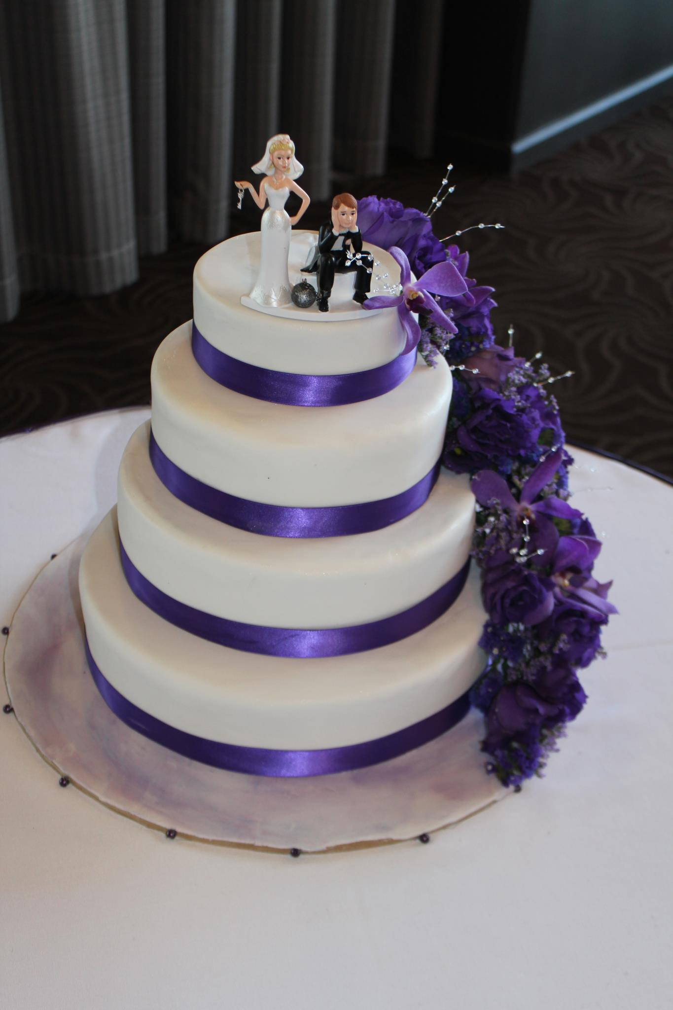 Carmel's Wedding Cake