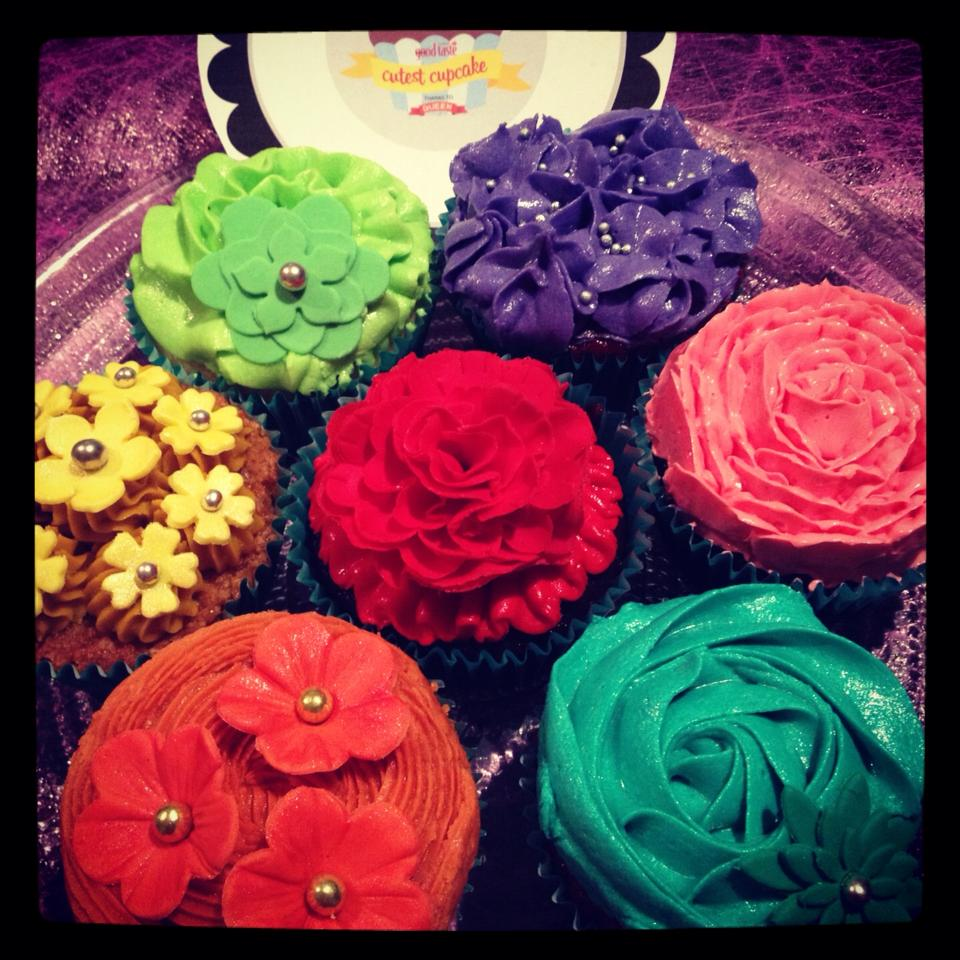 Jackie's Cupcake Bouquet