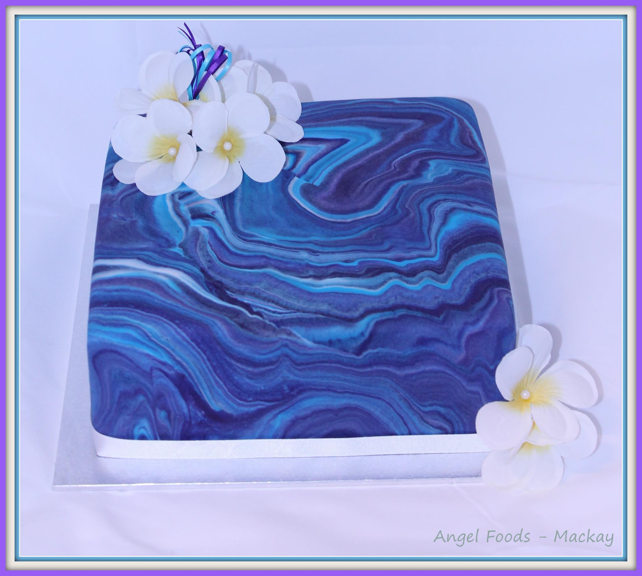 Kathryn's Marbled Cake