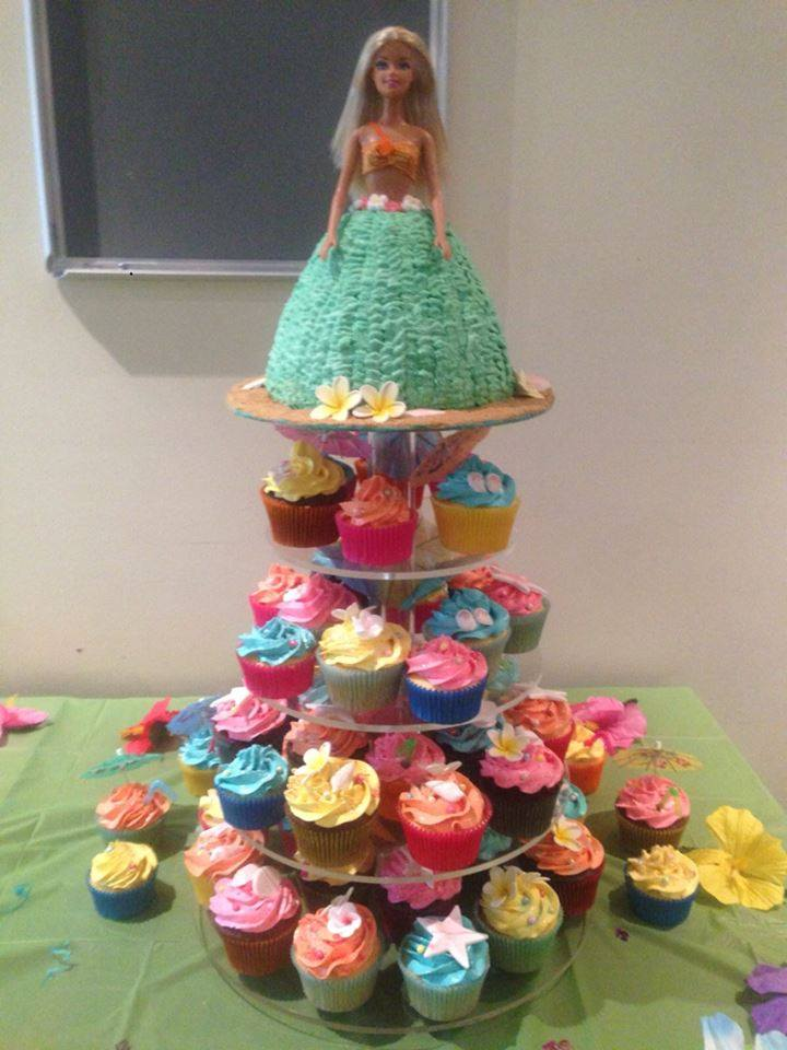 Kelly's Barbie Dolly Varden and Cupcakes