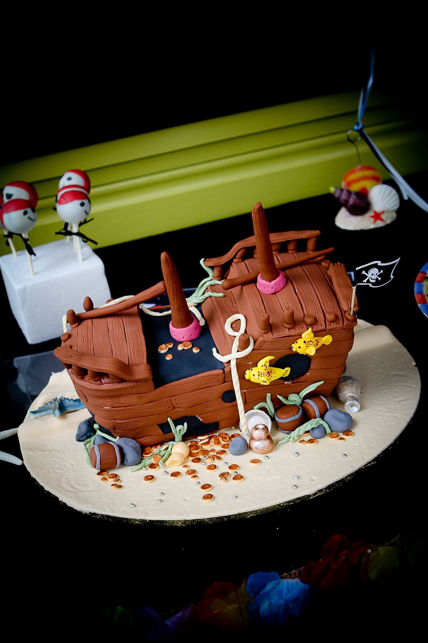 Margot's Shipwreck Cake