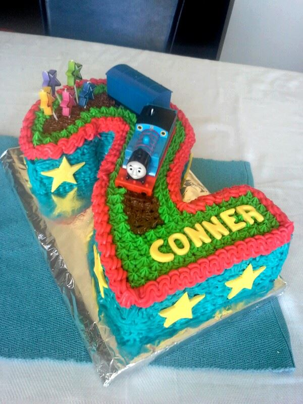 Rebecca's Thomas the Tank Engine Cake